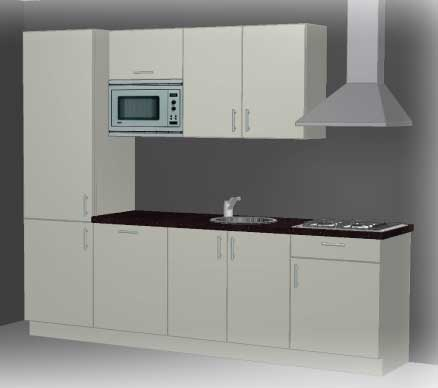 Kitchenette kitchenette modellen - Klein keuken model ...
